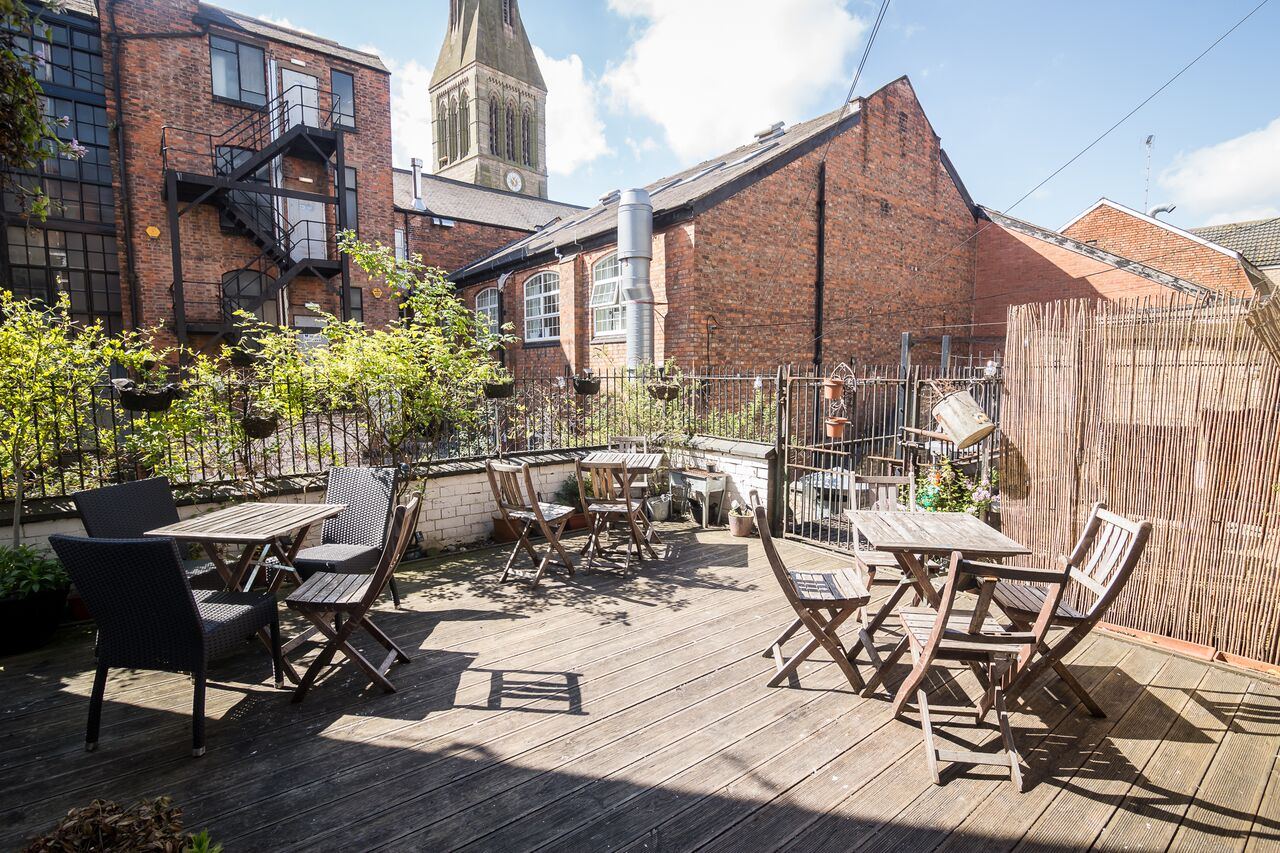 best city centre outdoor drinking spots cool as leicester. Black Bedroom Furniture Sets. Home Design Ideas