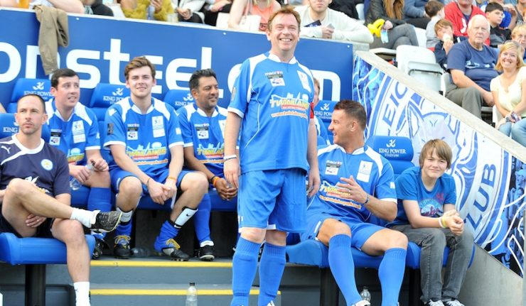 sellebrity soccer leicester 2017