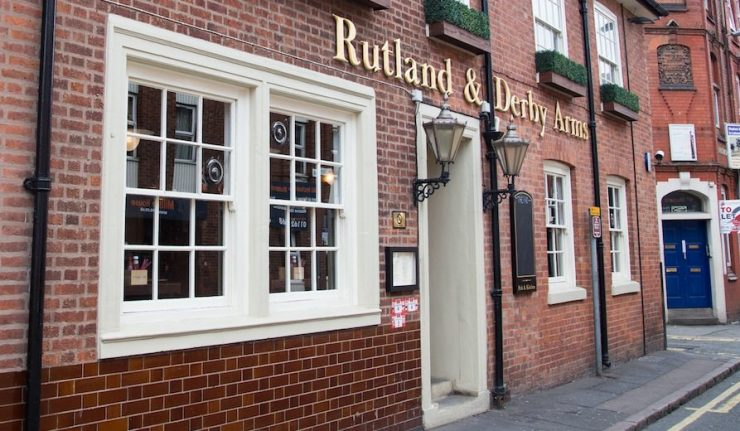 Rutland and Derby leicester
