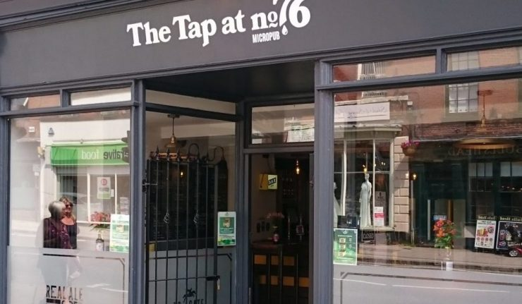 Tap at No.76 ashby micropub