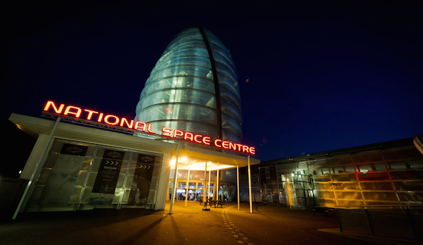 space centre Leicester