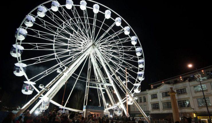 Ferris wheel leicester