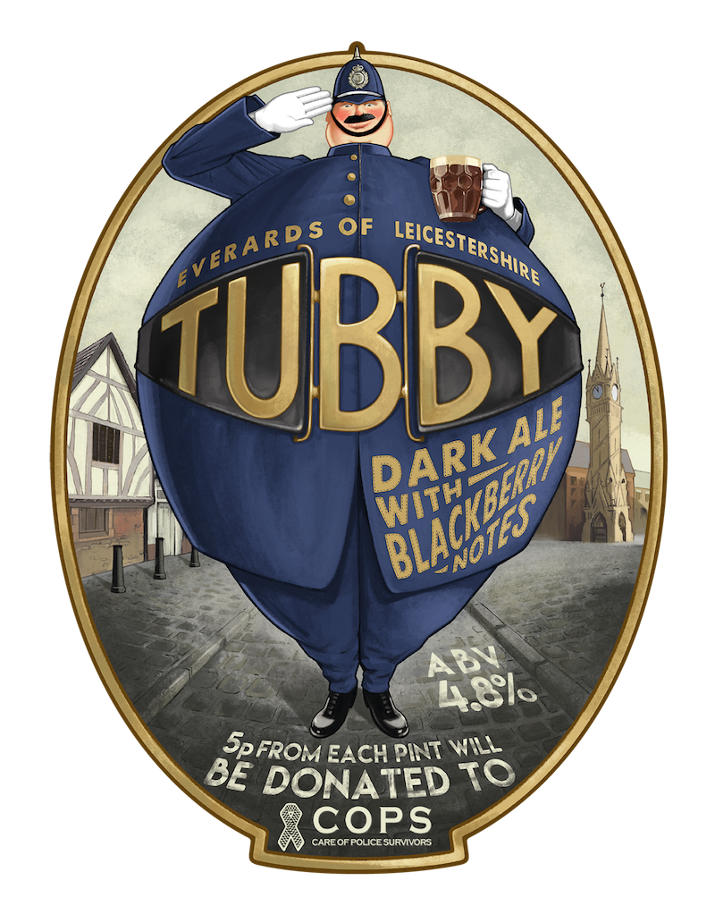 everards Leicester beer tubby
