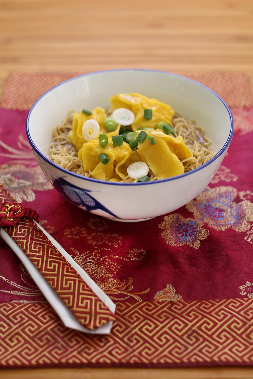 Wanton noodle soup