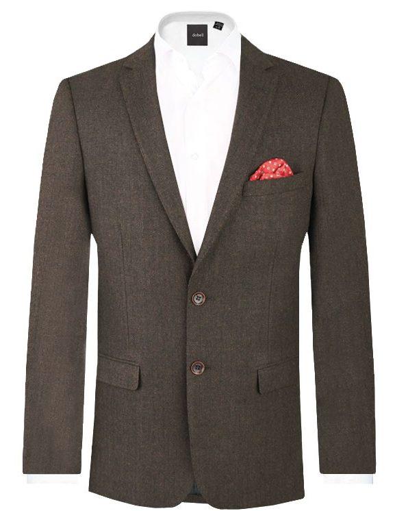 tweed blazer dobell