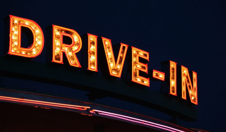 drive-in neon