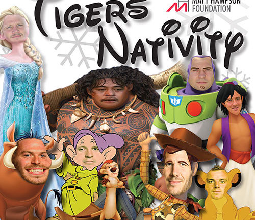 tigers nativity