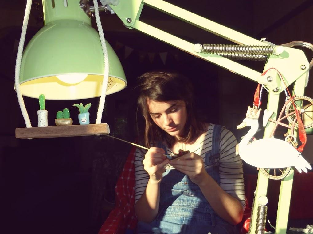 Jen, the creative force behind Wren & Wilson