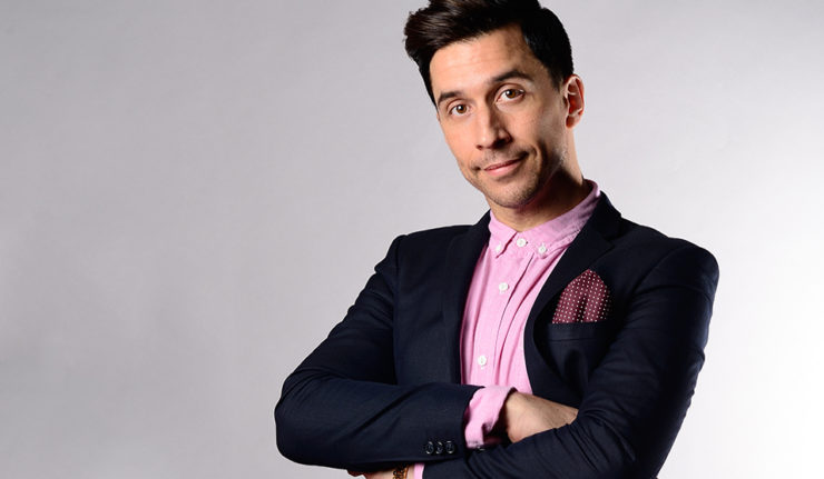 Russell Kane comic relief
