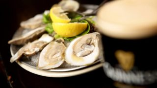 Guinness oysters leicester