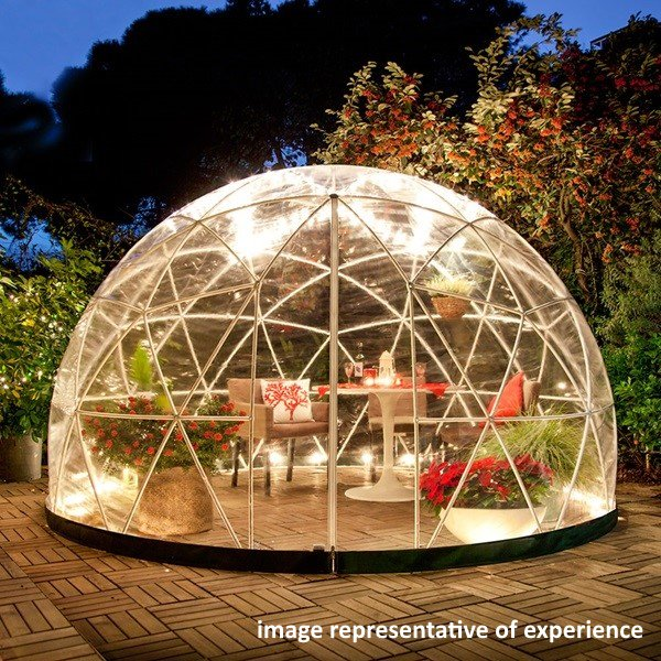 edible forest pod dining leicester