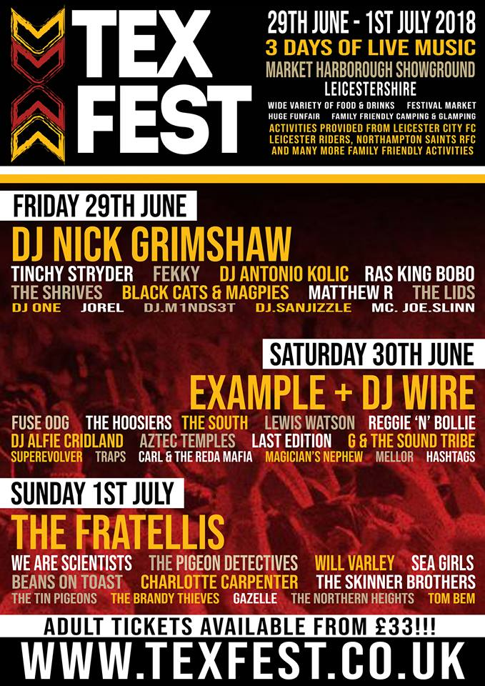 texfest festival leicester