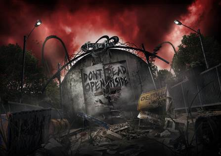 Thorpe park fright