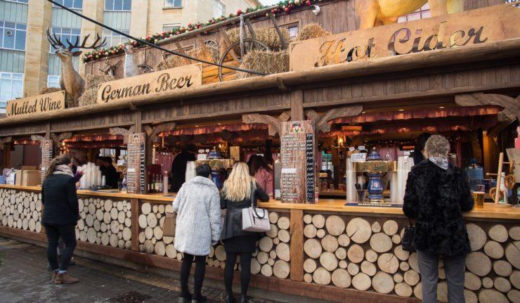 jagerhaus leicester Christmas market