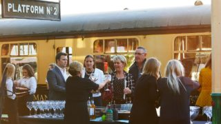 great central burleighs gin train