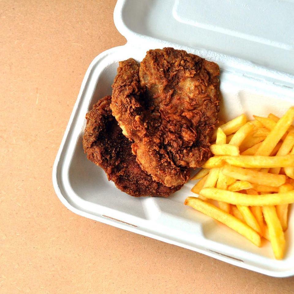 vegan chicken leicester