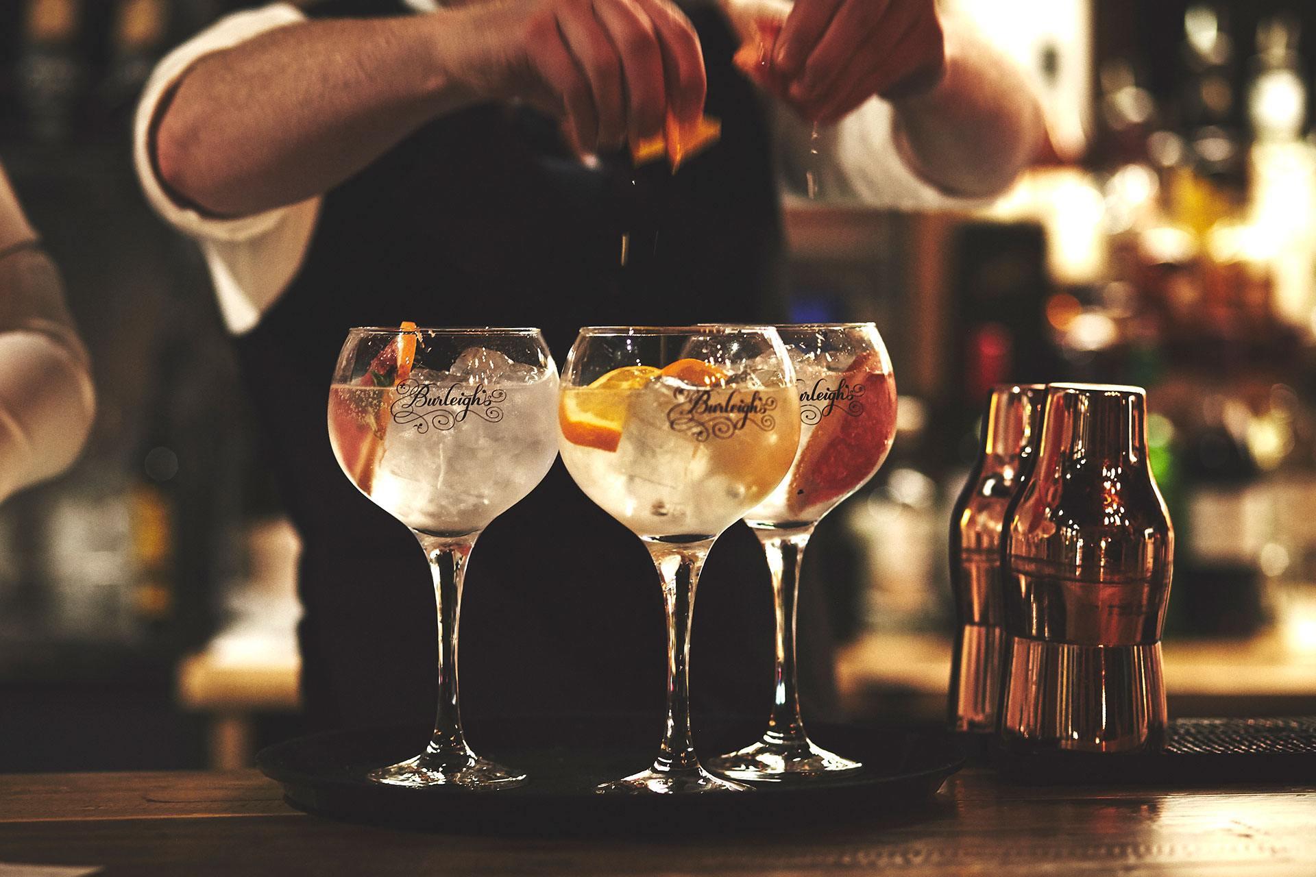 burleighs distillery