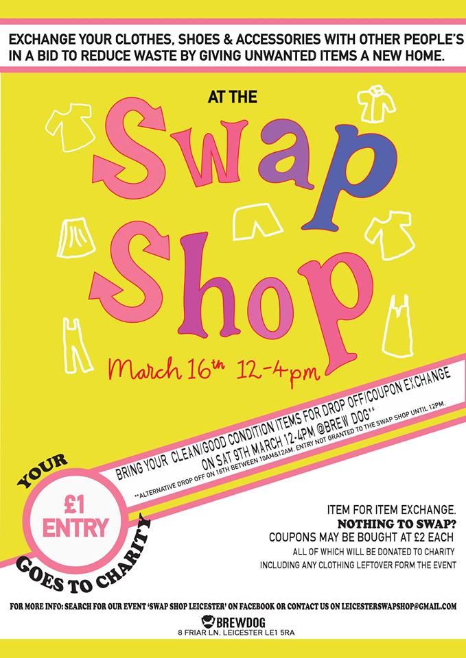 swap shop leicester