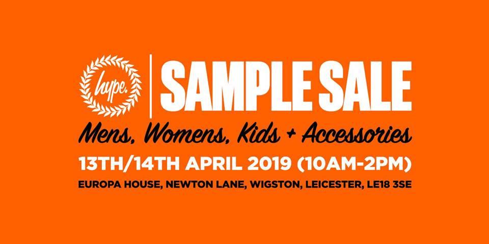 hype sample sale