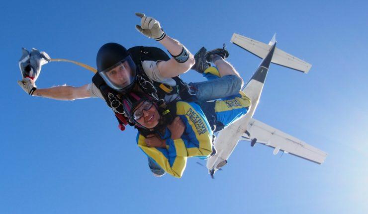 y charity skydive