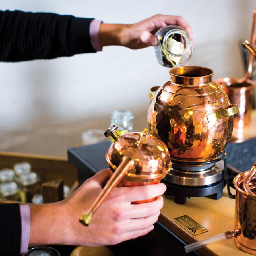 Burleighs gin distillery
