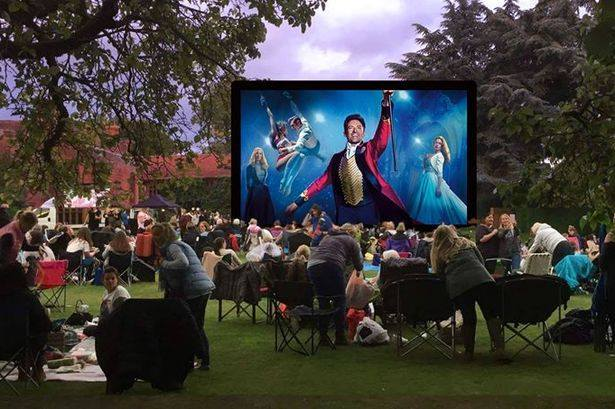 green place outdoor cinema