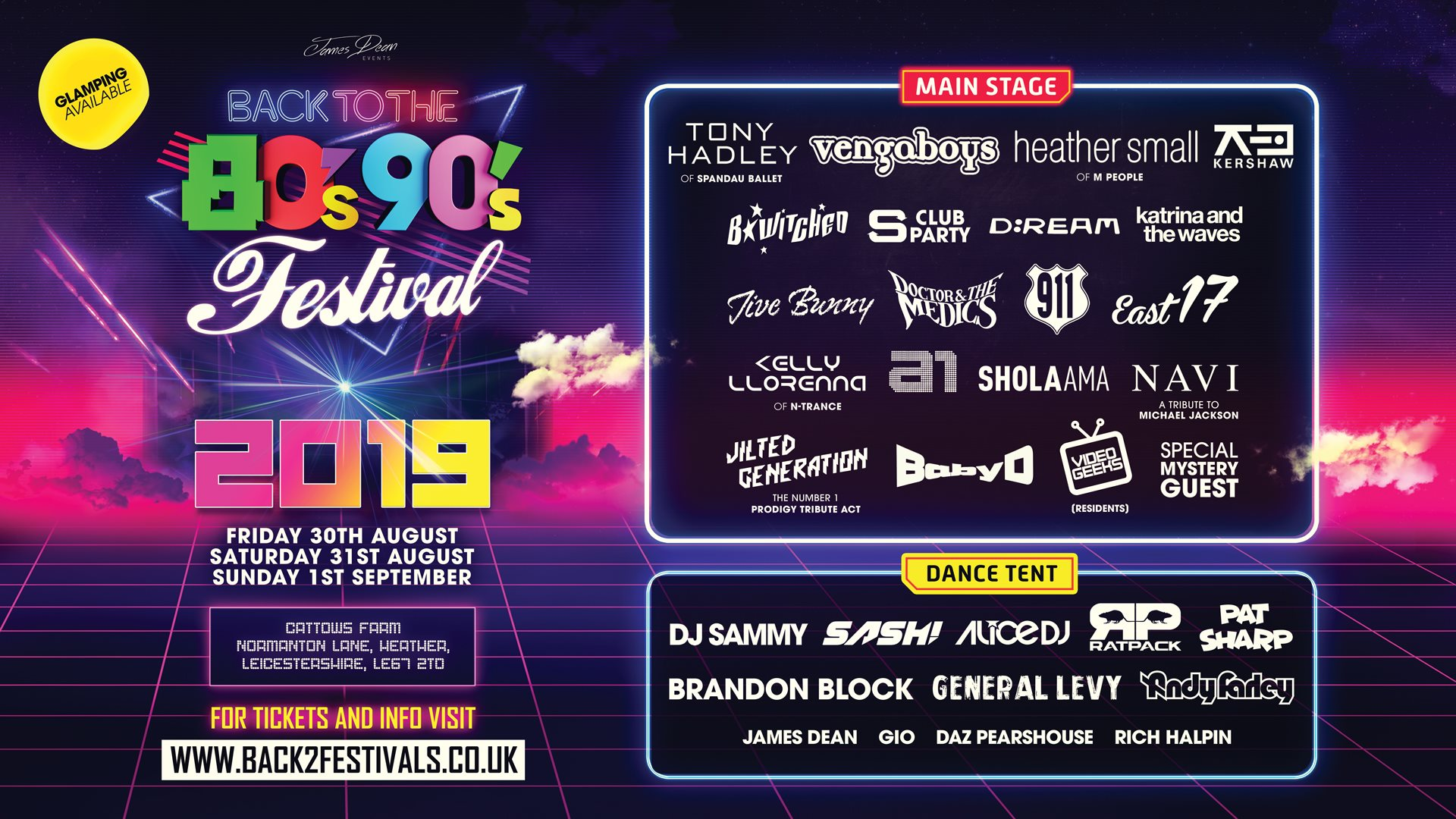 back to 80s festival