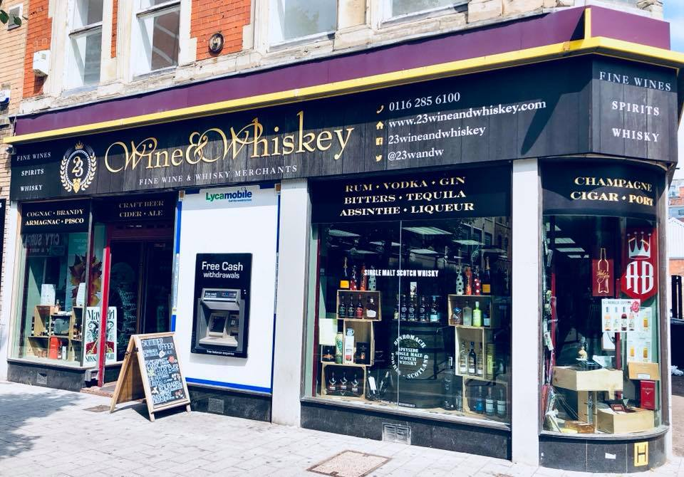 23 wine and whiskey leicester