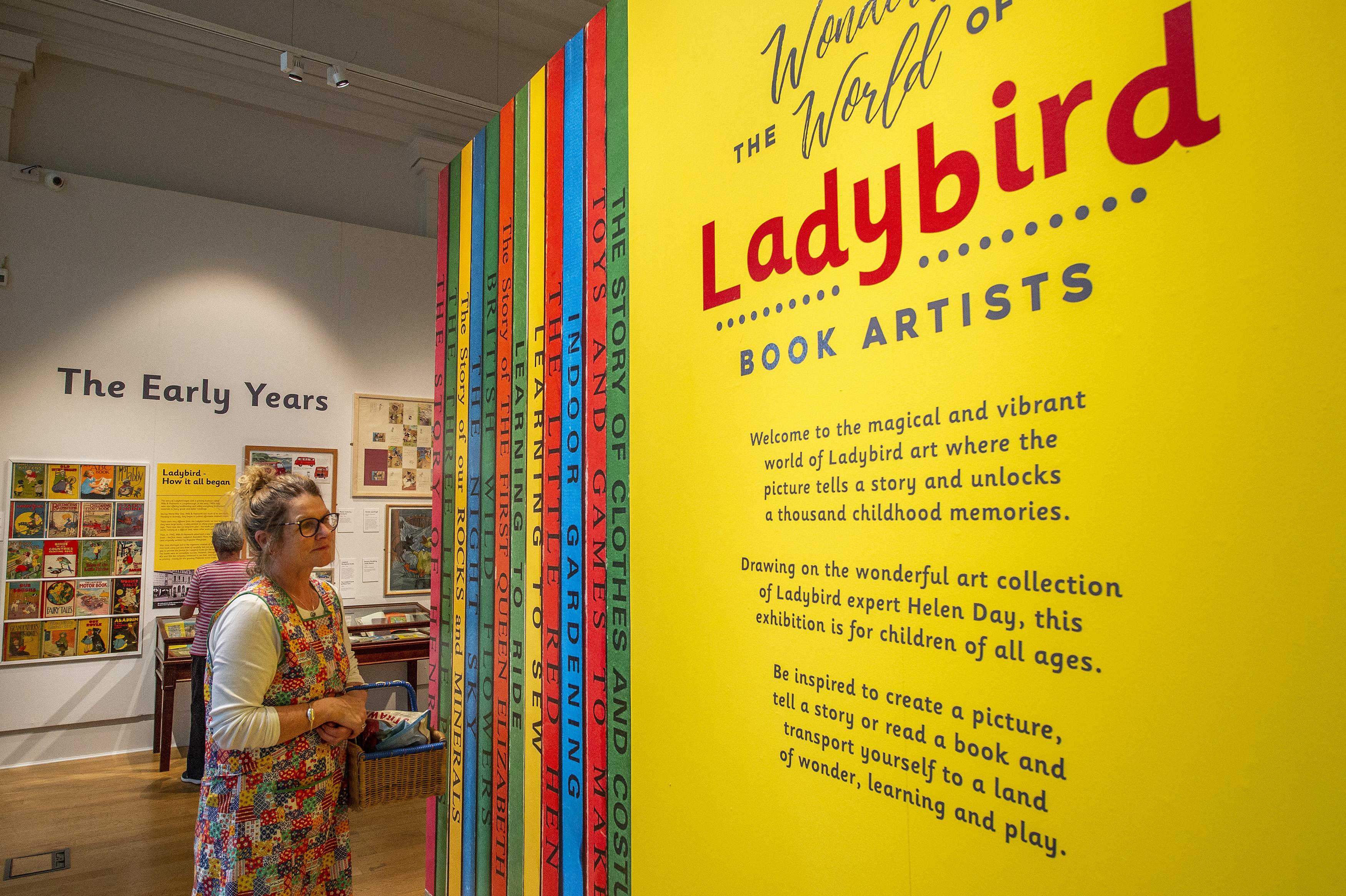 ladybird books leicester