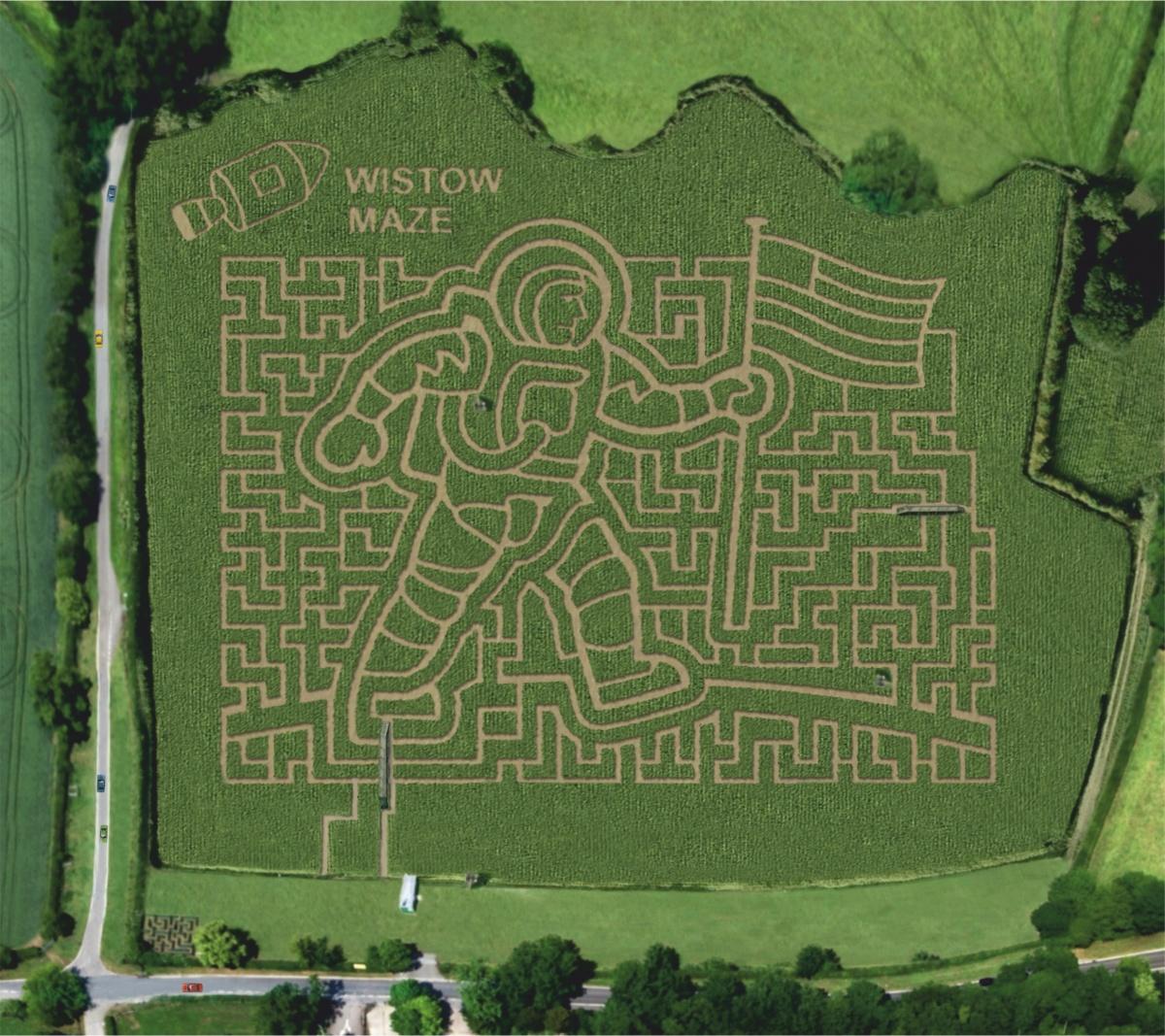 Wistow maze 2019