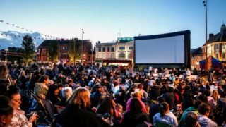 outdoor cinema leicester