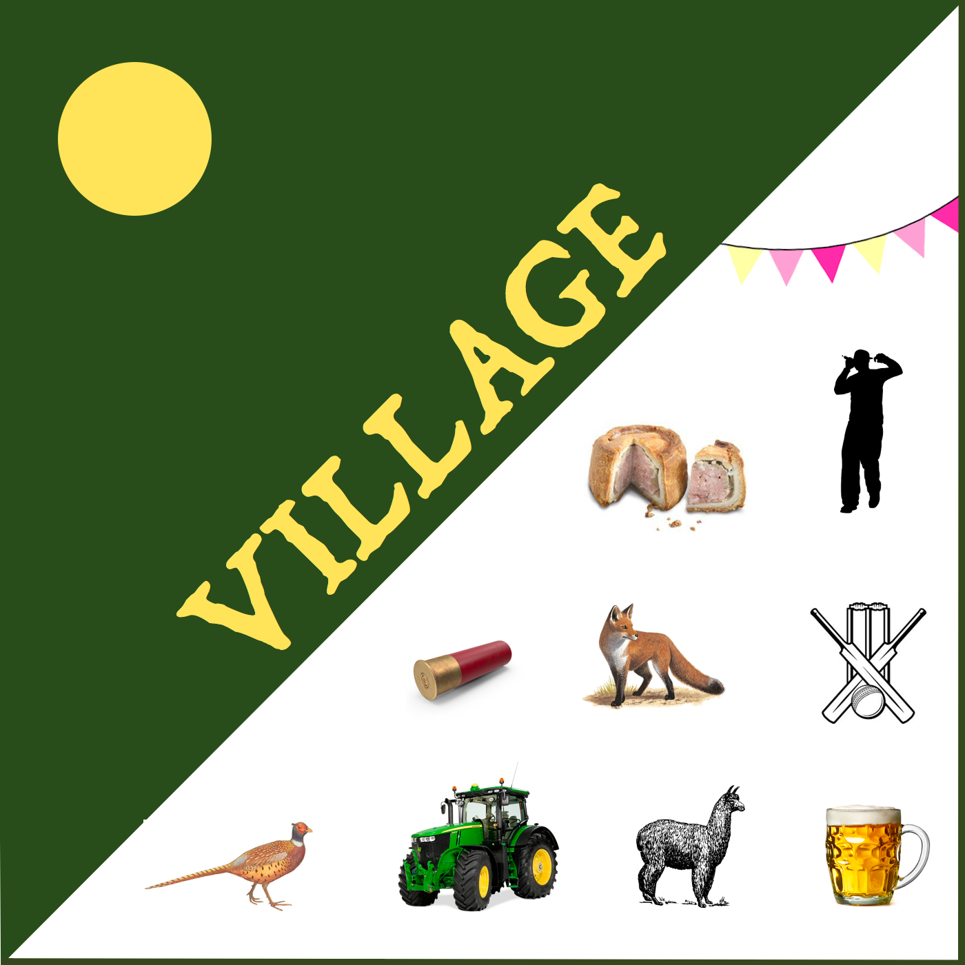 village podcast Leicestershire