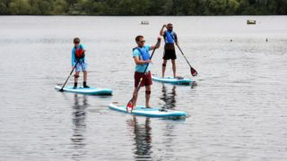 paddle boarding leicester