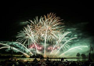 Belvoir castle fireworks