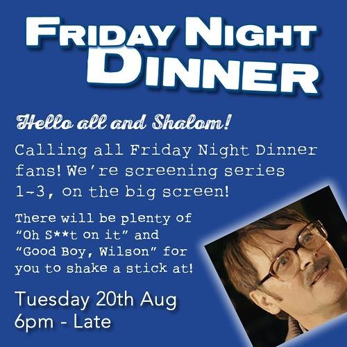 Friday night dinner leicester