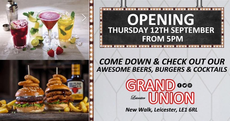 grand union leicester