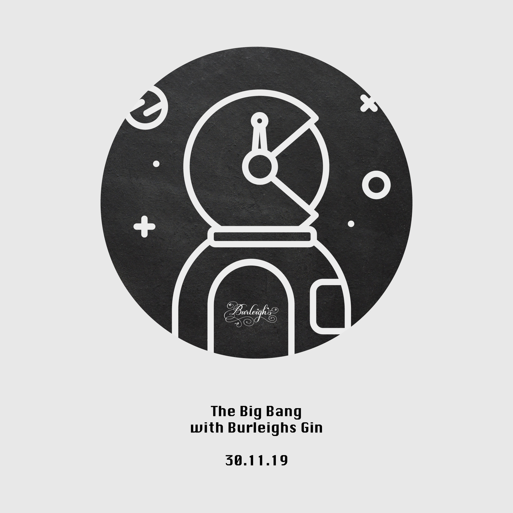 burleighs gin Big Bang