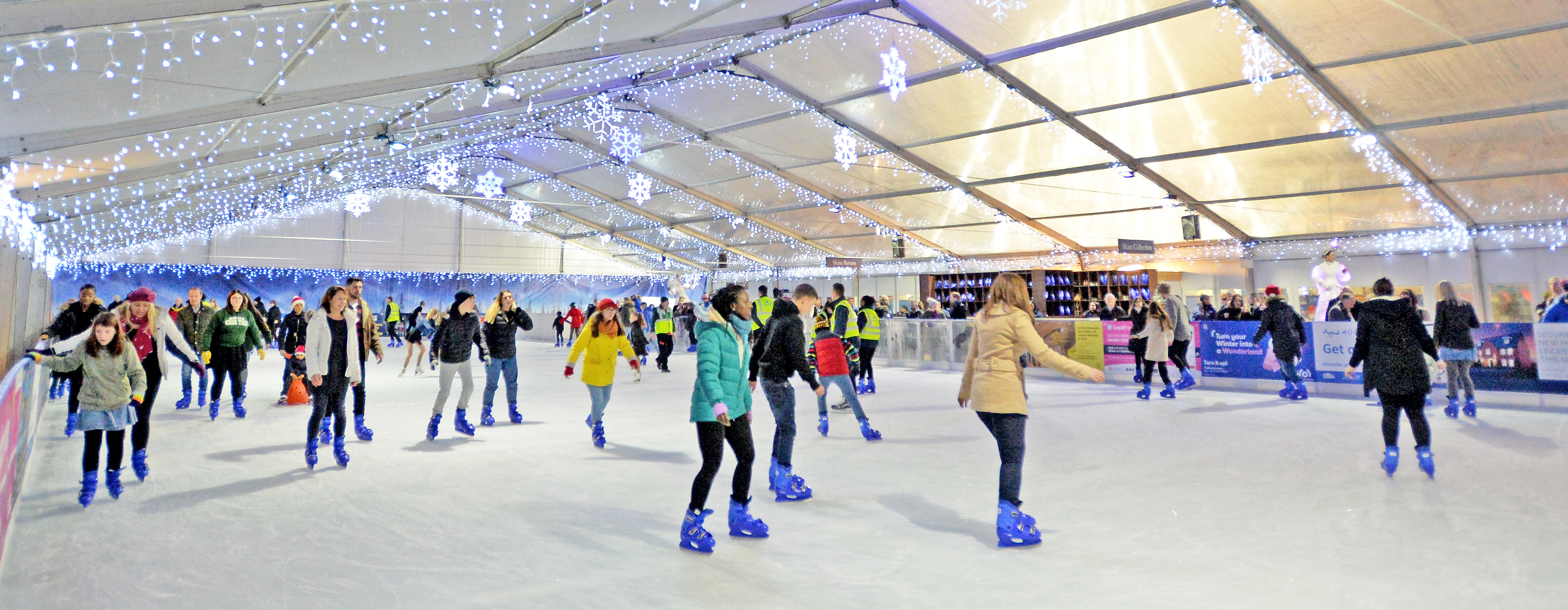 ice skating leicester
