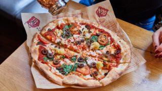 vegan mod pizza Leicester
