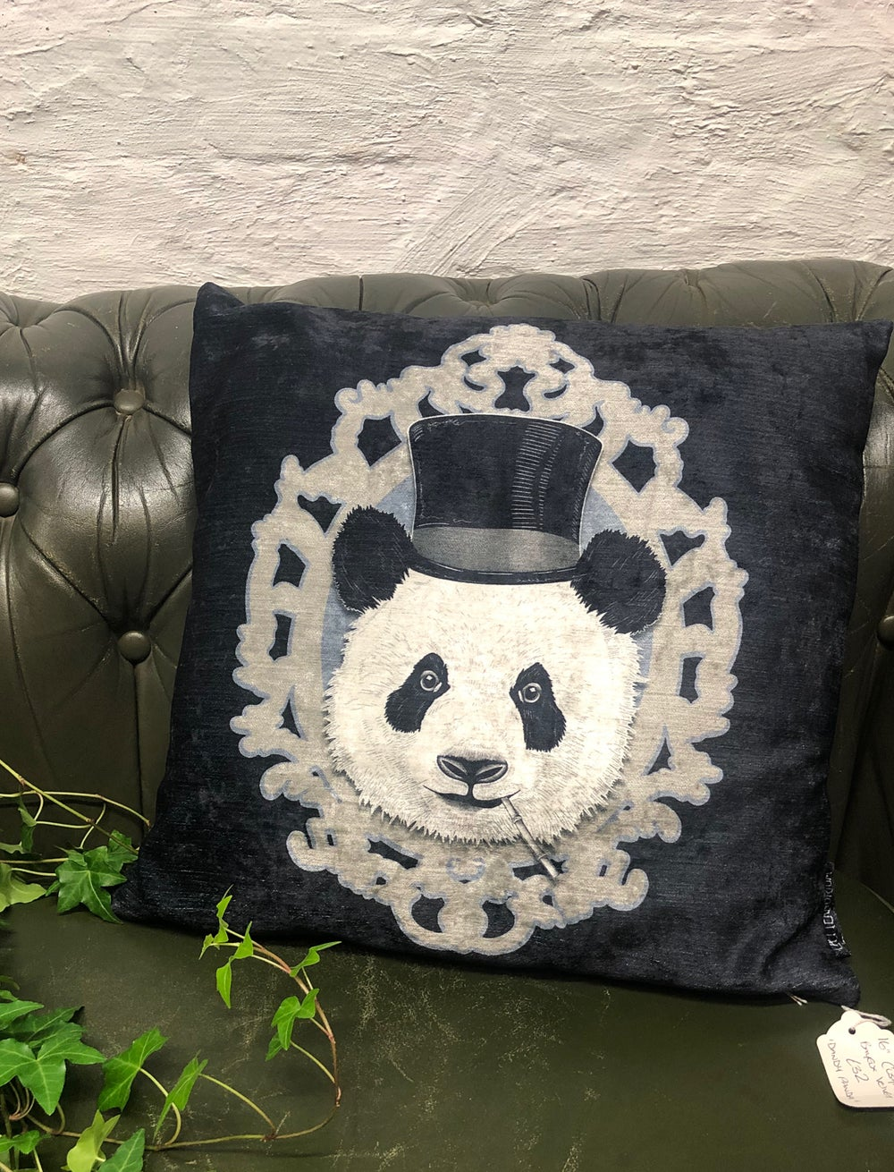 dandy panda cushion