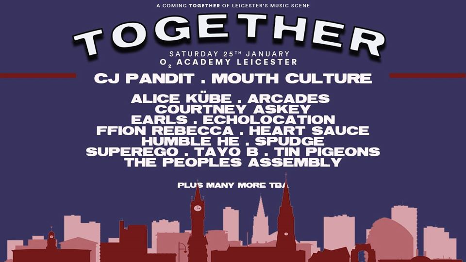 together festival Leicester
