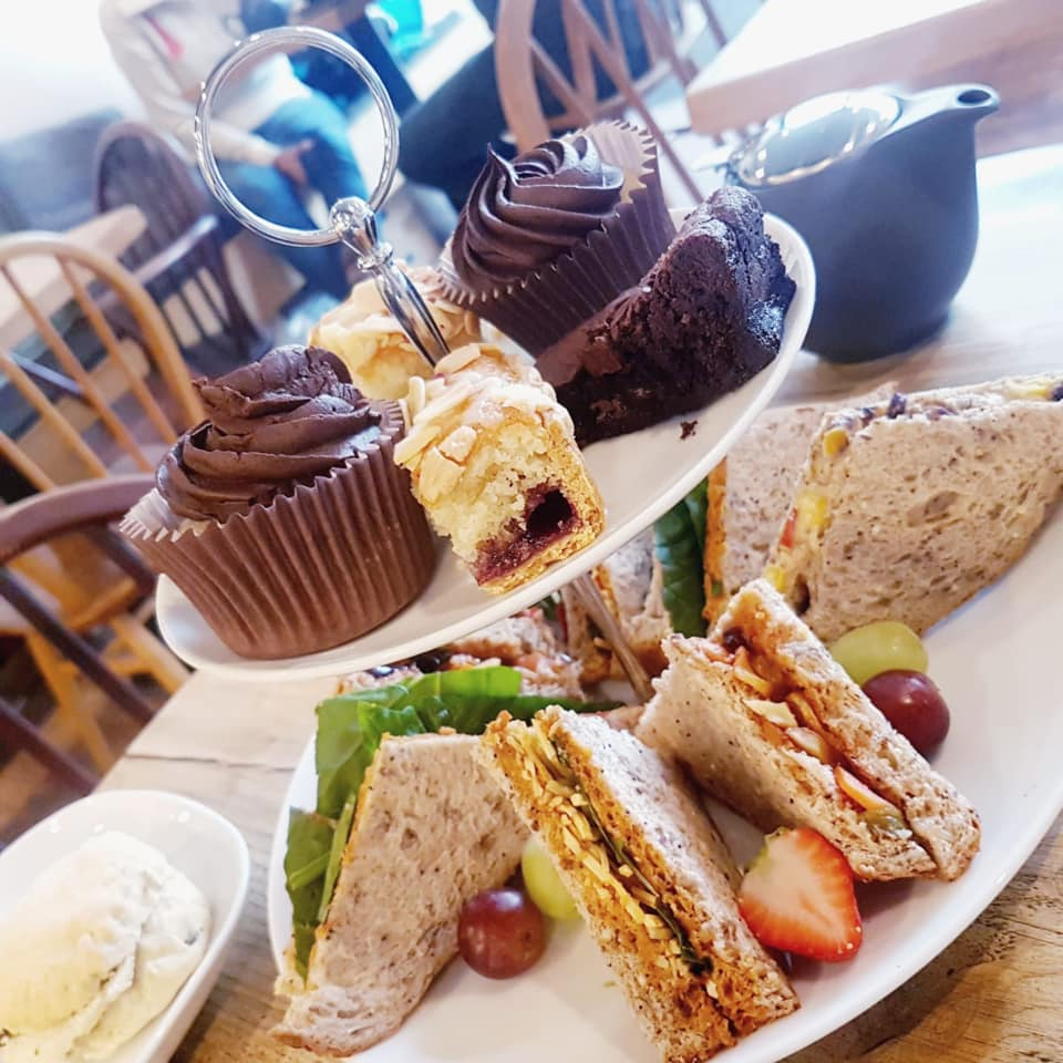 vegan afternoon tea leicester