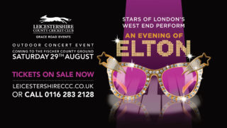 Elton live music leicester