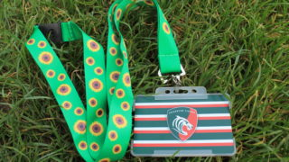 leicester tigers sunflower lanyard