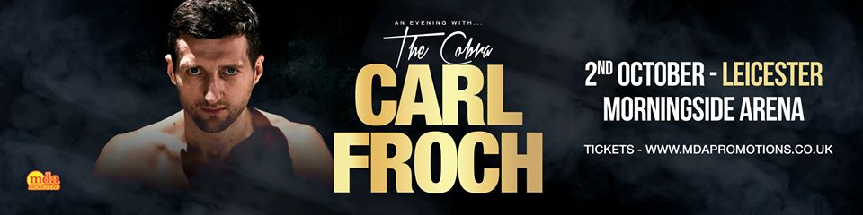 carl froch leicester