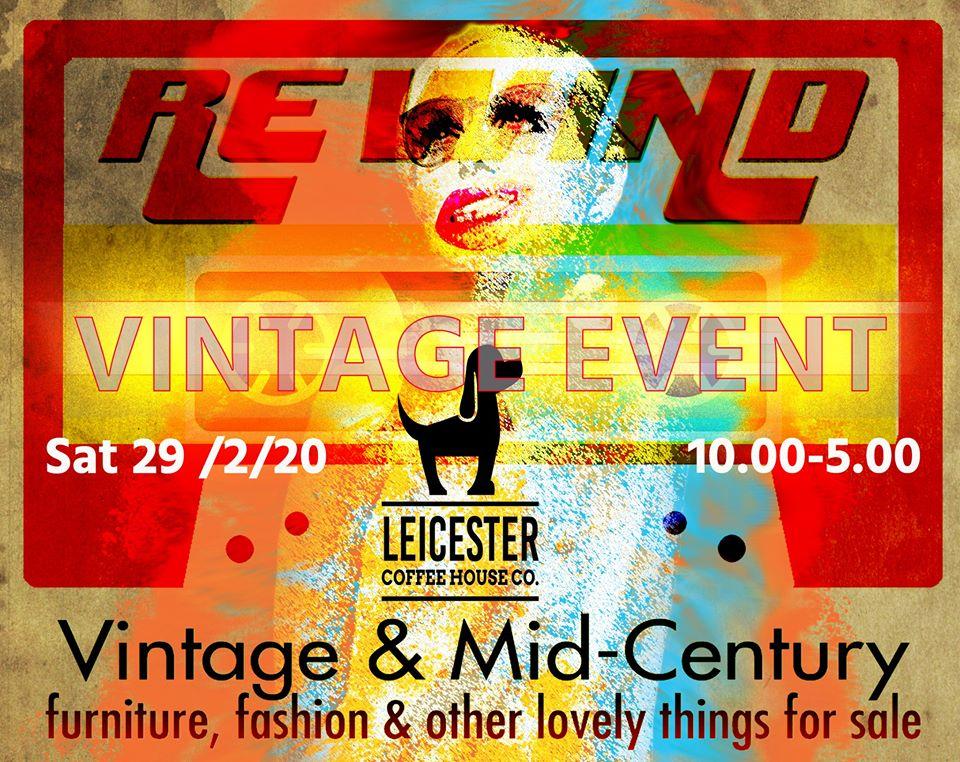 rewind vintage Leicester