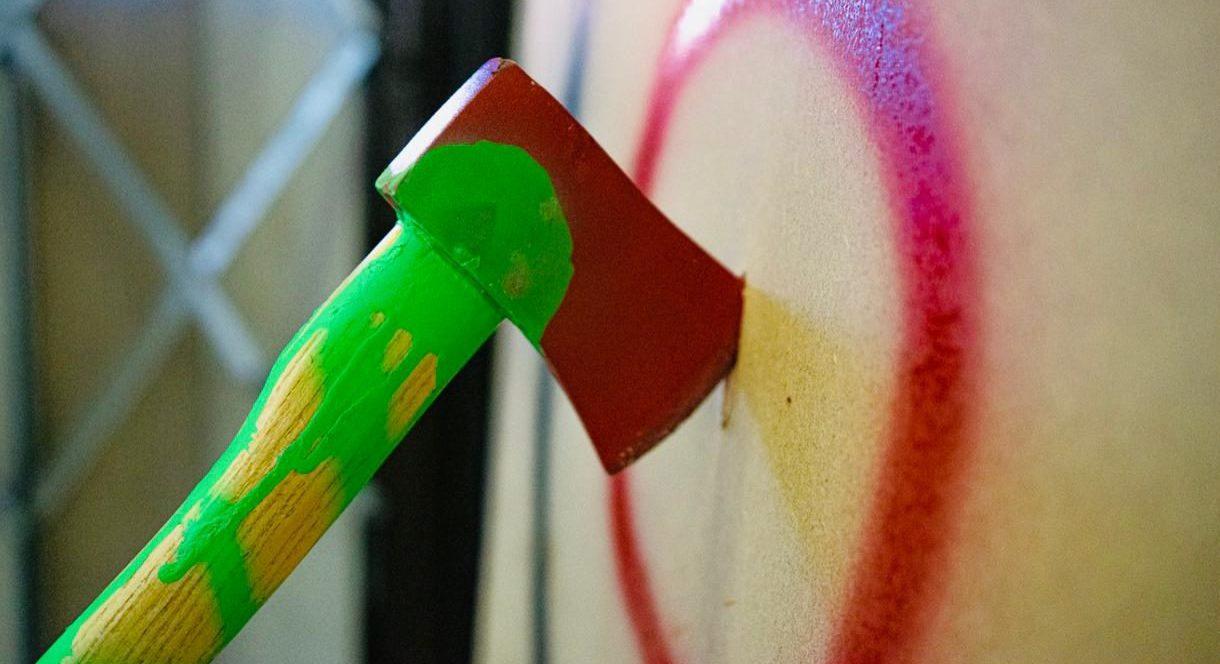 urban axe throwing leicester