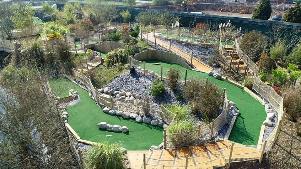 leicester blaby crazy golf