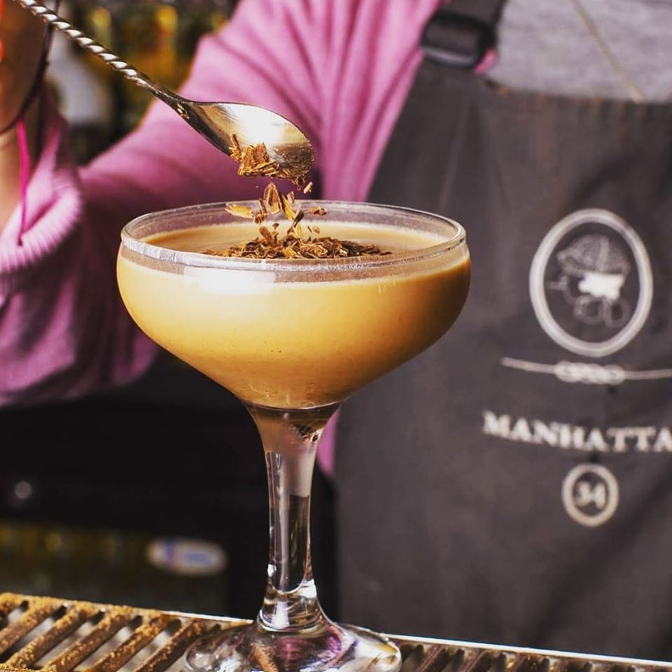 manhattan34 cocktail leicester