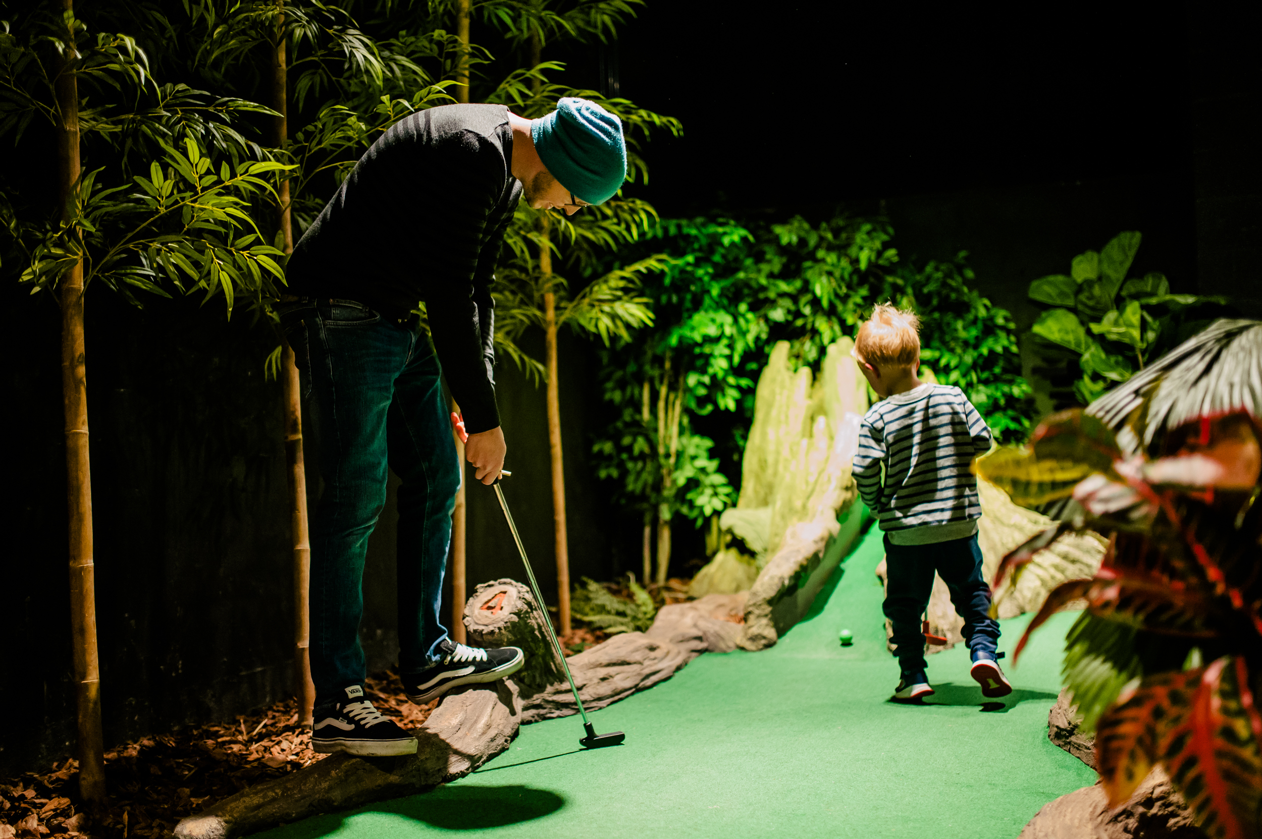 treetop adventure golf leicester
